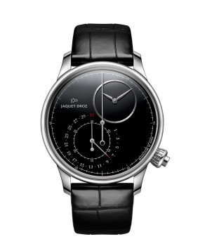 Jaquet Droz, Grande Seconde Off-centered Chronograph Black Onyx, J007830270, Front