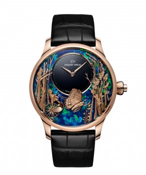 Jaquet Droz, Loving Butterfly Automaton, J032533274, Front