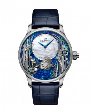 Jaquet Droz, Loving Butterfly Automaton, J032534273, Front