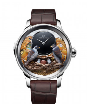 Jaquet Droz, Bird Repeater Falcon, J031034210, Front