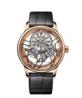 Jaquet Droz, Grande Seconde Skelet-one Red Gold Sapphire, J003523240, Front