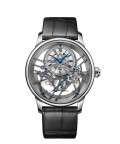 Jaquet Droz, Grande Seconde Skelet-one White Gold Sapphire, J003524240, Front
