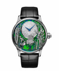 Jaquet Droz, Loving Butterfly Automaton, J032534272, Front