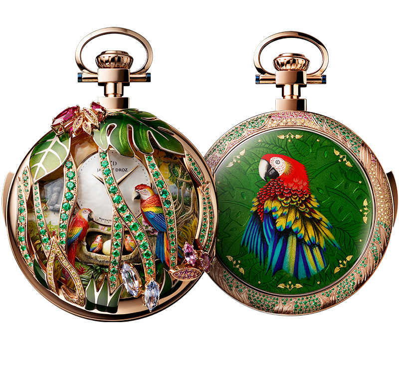 Parrot Repeater Pocket Watch, J080533000