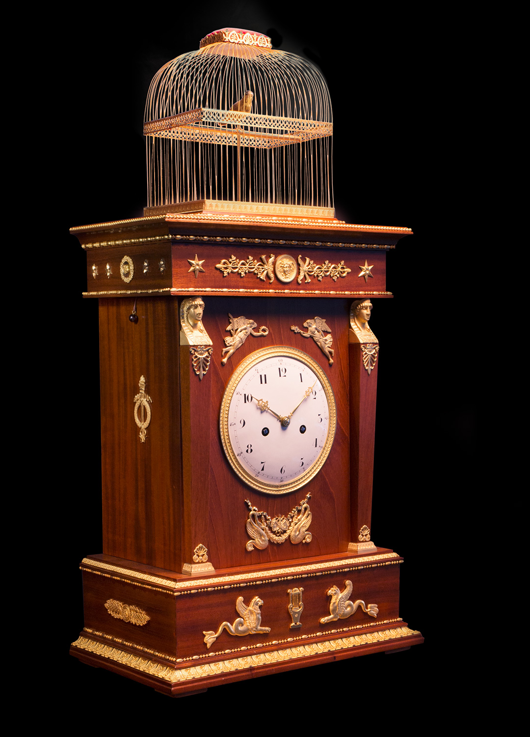 The incredible restoration of an historic Jaquet Droz clock